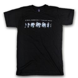 Moon Phase Tri-Black T-Shirt