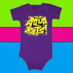 Hi-Five Soup Purple Infant Onesie