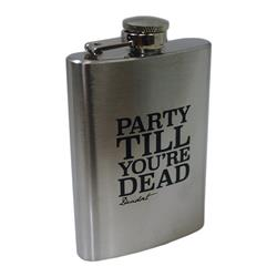Party Till You're Dead Flask
