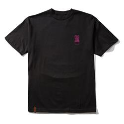Cactus Embroidered Black