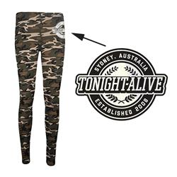 Crest Camo Leggings