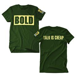 Talk Is Cheap Green