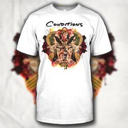 Full Of War Album Art White T-Shirt