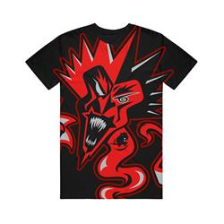 Red Fred And Rat Black T-Shirt