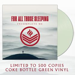 Incomplete Me Coke Bottle Green Vinyl LP