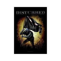 Disturbed Flag Runner Black Flag