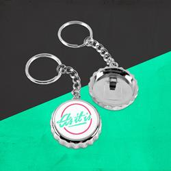 Logo Bottle  Cap Key Chain
