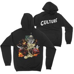 Culture Album Artwork Black Hooded Pullover