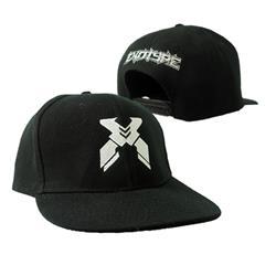 X Black Snapback Hat