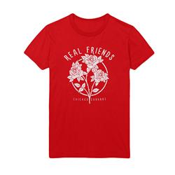 Flowers Red T-Shirt