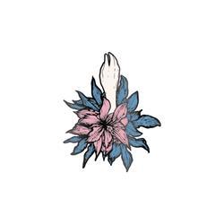 Flower  Enamel