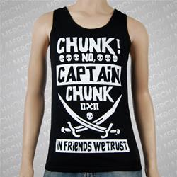 Swords Spoof Black Tank Top
