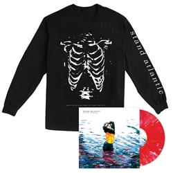 Skinny Dipping - Vinyl + Ribcage Black Long Sleeve