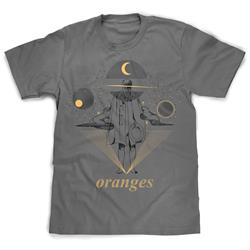 Oranges - Old Man Grey - T-Shirt Small