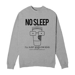 Milo Lemonade Grey Heather Crewneck