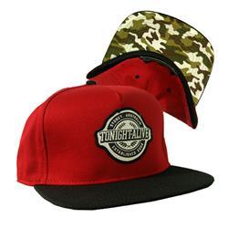 Crest Maroon Snapback Hat