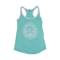 Emblem Mint Girl's Tank Top