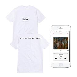 We Are All Animals White T-Shirt + Digital Album