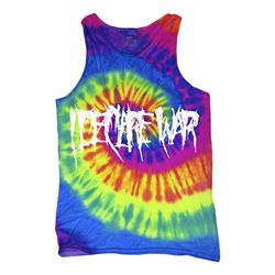 Logo Neon Rainbow Tank Top