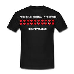 Positive Mental Attitude T-Shirt + Free MP3s
