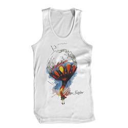 Balloon White Tank Top