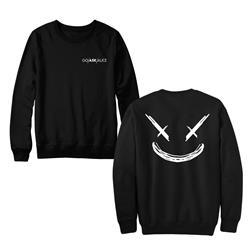 Smile Black Crewneck