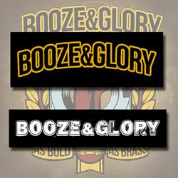 Booze & Glory Bumper Sticker Bundle