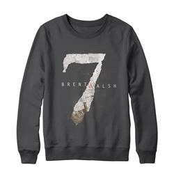 7 Charcoal Crewneck Sweatshirt
