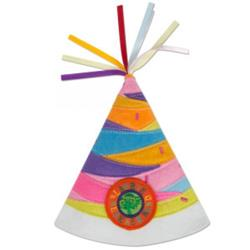 Party Day! Pink Multicolor Party Hat
