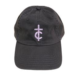 TC Logo Embroidered Grey Dad