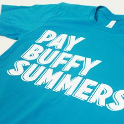 Pay Buffy Summers Aqua