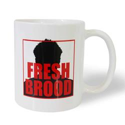 Fresh Brood White Coffee Mug