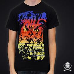 Akraik / ESTK Owl Black T-shirt Collaboration