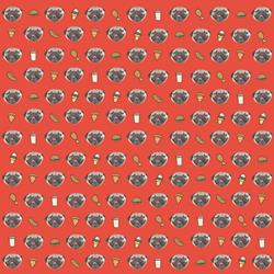 Food Holiday Wrapping Paper