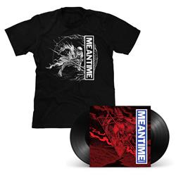 Meantime [REDUX] Black LP & T-Shirt