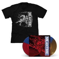 Meantime [REDUX] Tri-Color LP & T-Shirt - Various Artists