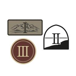 Acts 1-3 Patches - Set Of 3
