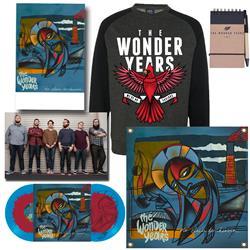 No Closer To Heaven Vinyl LP + Crewneck Sweatshirt + Flag + Notebook + Poster