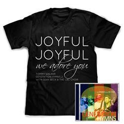 Tommy Walker - Generation Hymns CD + T-shirt