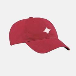 Shimmur Strapback Hat Red