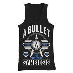 Symbiosis Black Tank Top