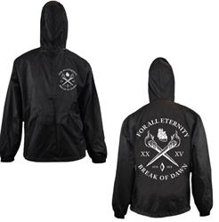 Torches Black Windbreakers Jacket