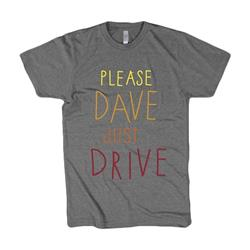 Just Drive Heather Tri-Blend
