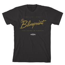 The Blueprint Black T-Shirt