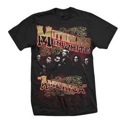 America Black T-Shirt