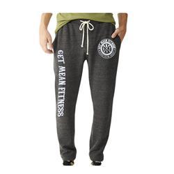 Logo Heather Grey Sweatpants