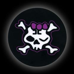 Girly Winking Skull
