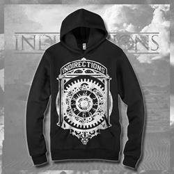 Clockwork Black Hooded Sweatshirt