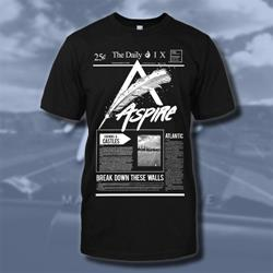 Aspire The Daily Black T-Shirt