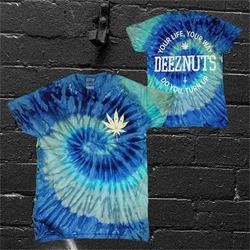 Your Life Your Way Blue Jerry Tie-Dye T-Shirt